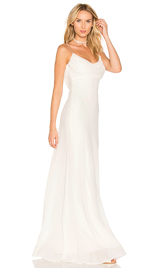 Katie May Eden Gown in Ivory