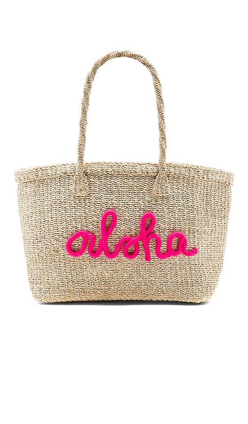 KAYU x REVOLVE Aloha Tote Bag in Beige