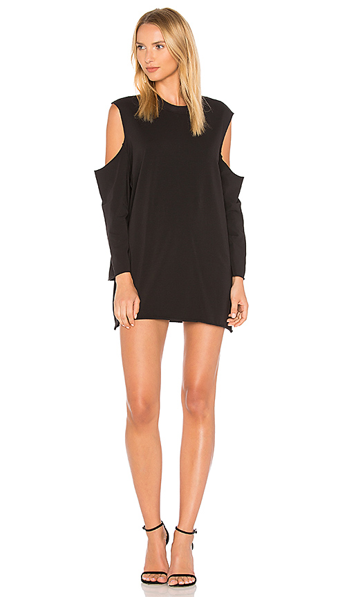 KENDALL + KYLIE Cutaway Dress in Black