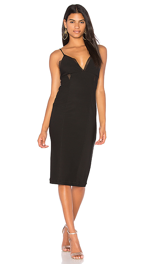 KENDALL + KYLIE Cami Dress in Black