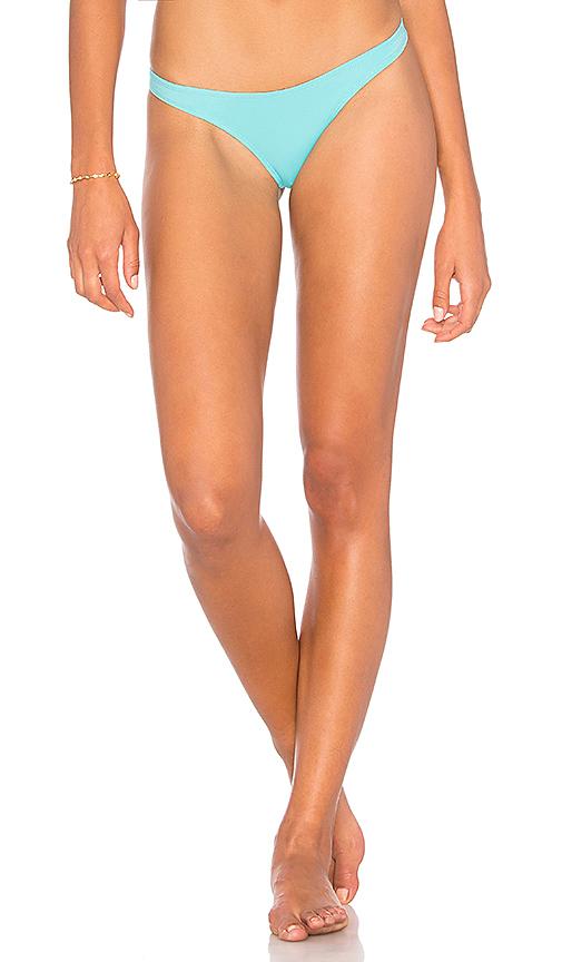 KENDALL + KYLIE x REVOLVE 90's Bikini Bottom in Turquoise