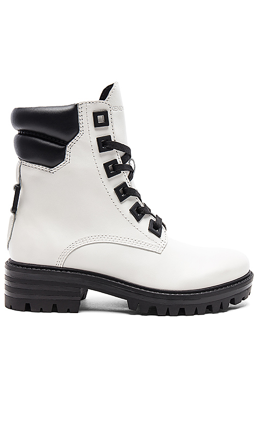 KENDALL + KYLIE East Boot in Black & White