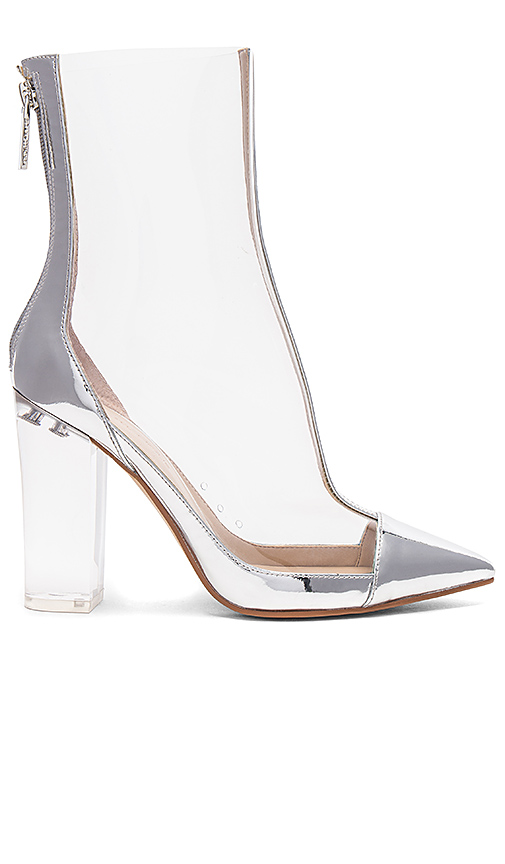 KENDALL + KYLIE Haven Bootie in Metallic Silver