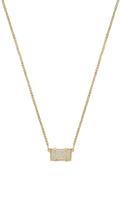 Kendra Scott Pattie Pendant Necklace in Metallic Gold