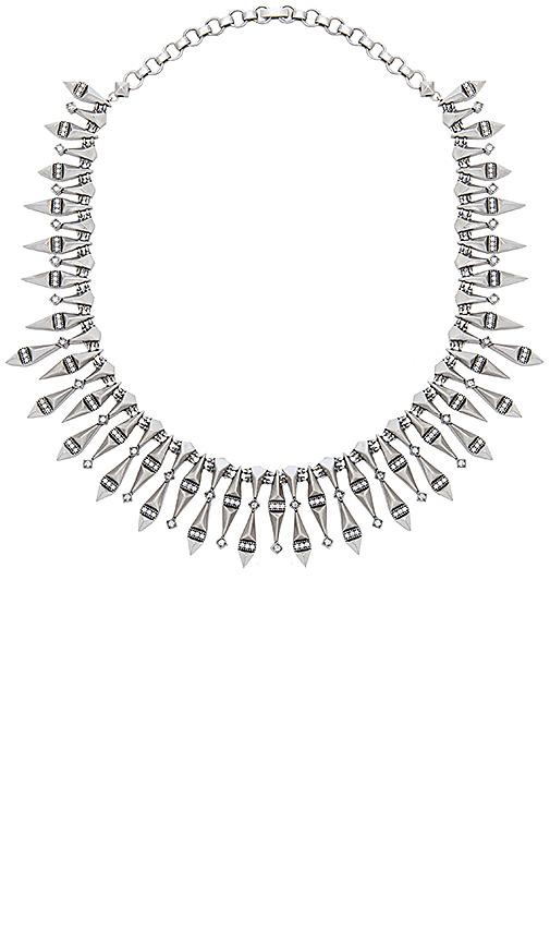 Kendra Scott Cici Statement Necklace in Metallic Silver