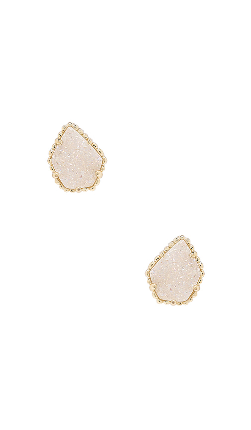 Kendra Scott Tessa Earring in Metallic Gold