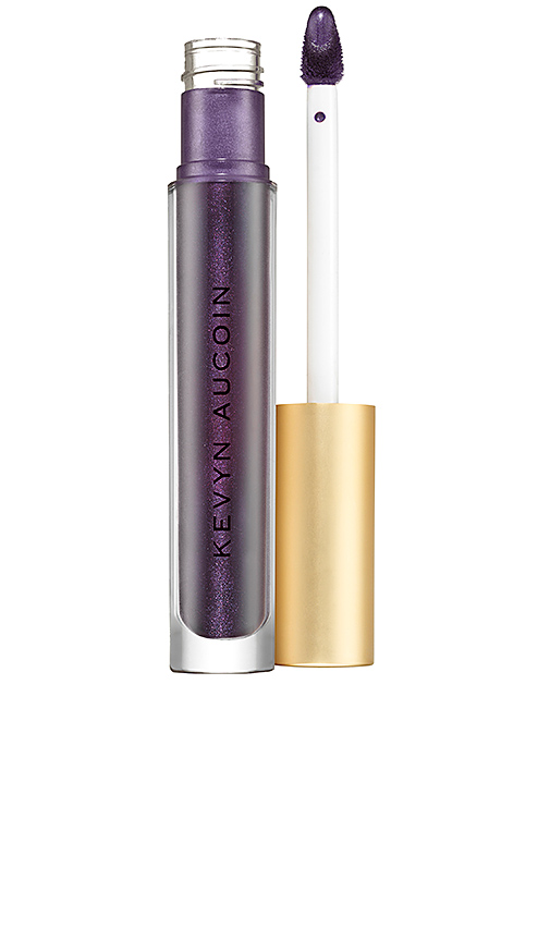 Kevyn Aucoin The Molten Metals Lip Color in Black.
