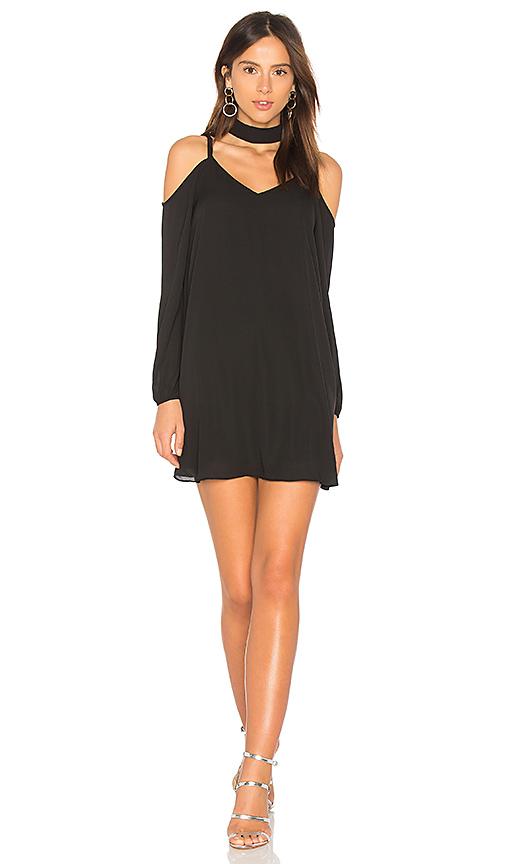 krisa Choker Dress in Black