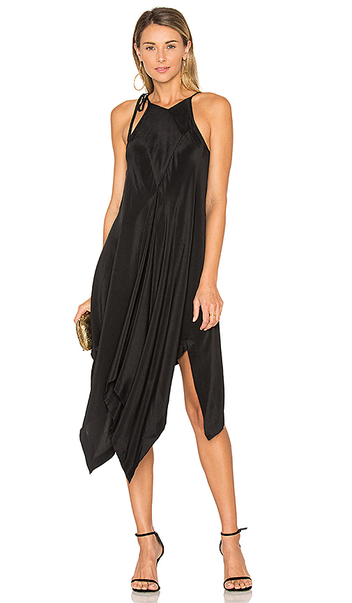 KITX Right Angle Dress in Black. - size UK 10 / US M (also in UK 6 / US XS, UK 8 / US S)