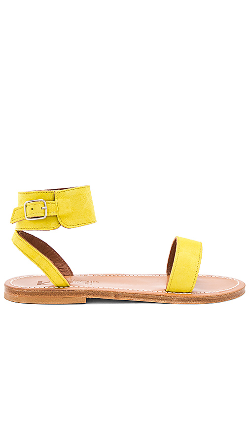 b9bb0268559d7a K Jacques Saratoga Sandal in Yellow. - size 36 (also in 37