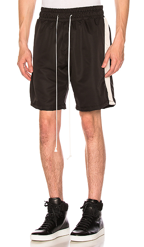 Daniel Patrick Track Short in Black. - size S (also in L,M,XL)