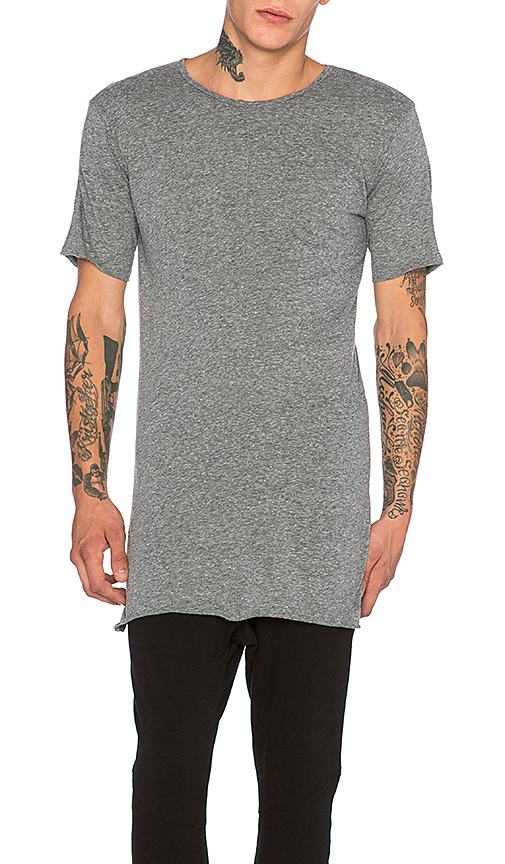 knomadik by Daniel Patrick Knomad Loose Tee in Gray. - size L (also in M,S,XL)