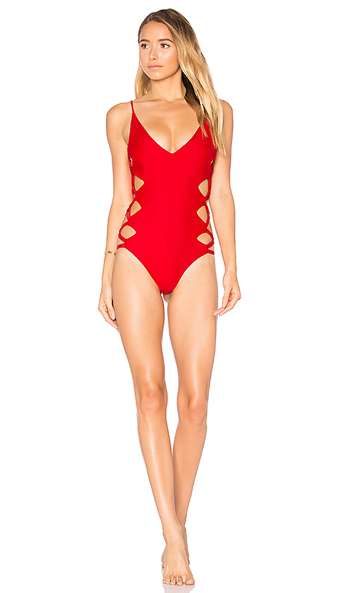 KAOHS x REVOLVE Rio One Piece in Red