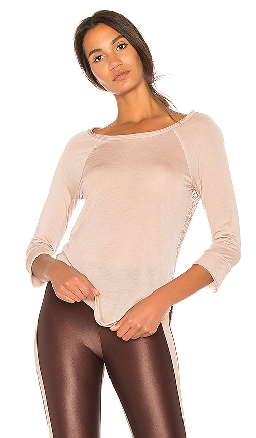 KORAL Warm Up Pullover in Beige