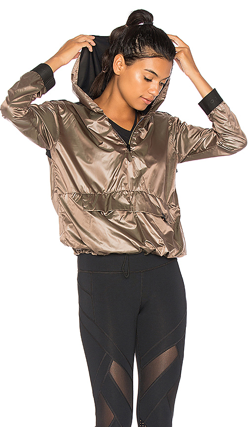 KORAL Ground Anorak Jacket in Brown