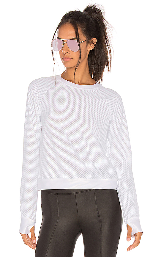 Photo of KORAL Sofia Pullover in Ivory - shop KORAL tops sales