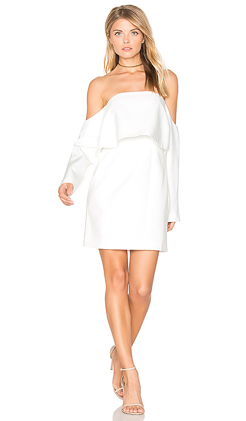 keepsake Stolen Dance Dress in White