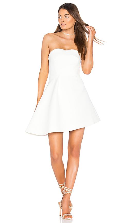 keepsake Light Out Mini Dress in Ivory