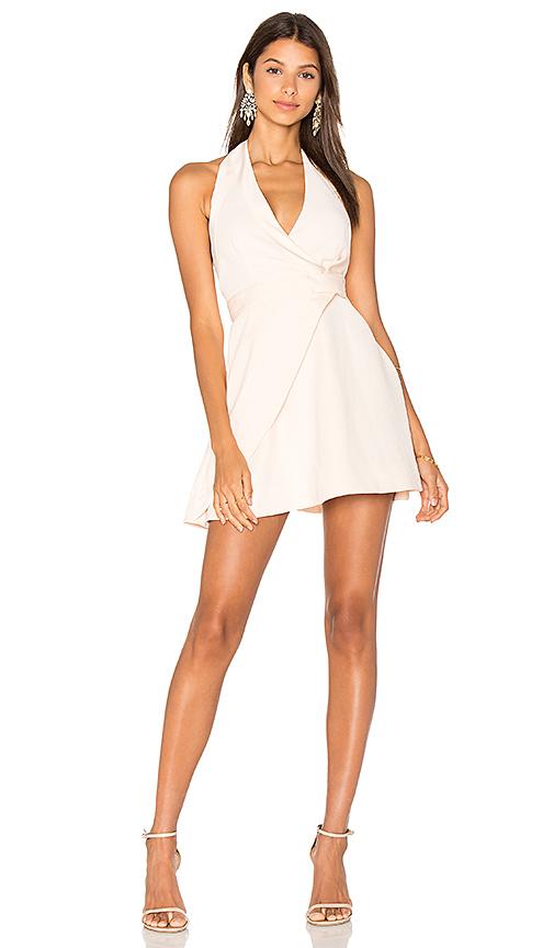 keepsake Modern Things Mini Dress in Blush