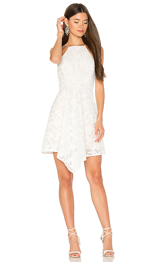 keepsake Plain Sight Mini Dress in Ivory