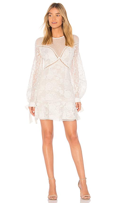 keepsake Frameless Mini Dress in Ivory