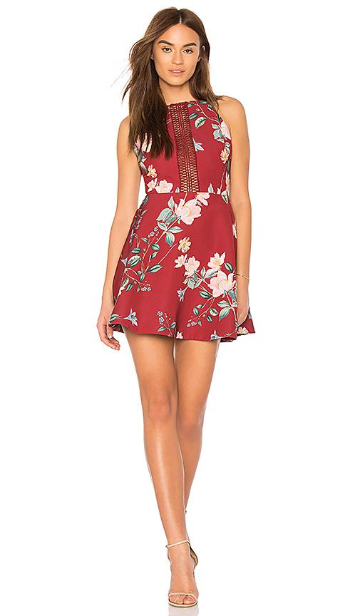 keepsake Do It Right Mini Dress in Red