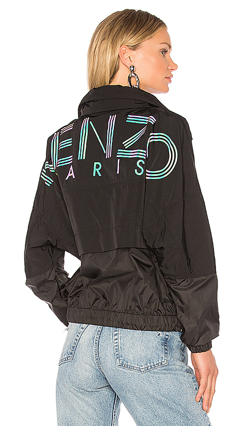 Kenzo Windbreaker in Black