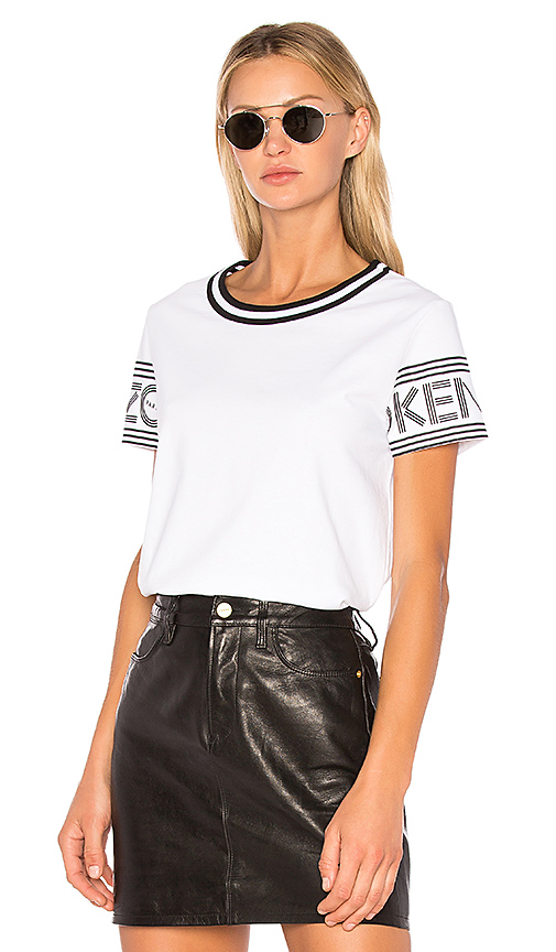 Kenzo Sport Straight T-Shirt in White