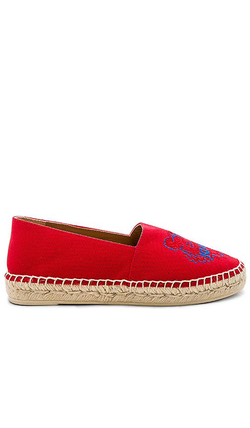 Kenzo Classic Espadrilles in Red
