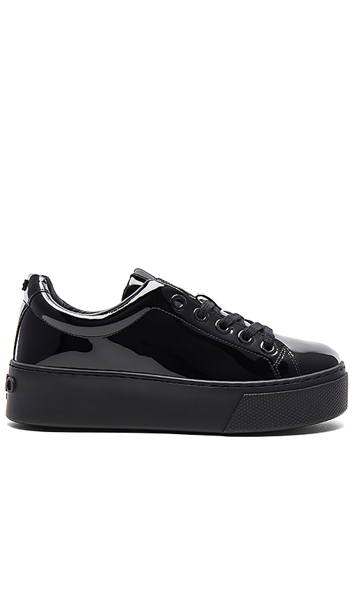 Kenzo K-Lace Platform Sneakers in Black