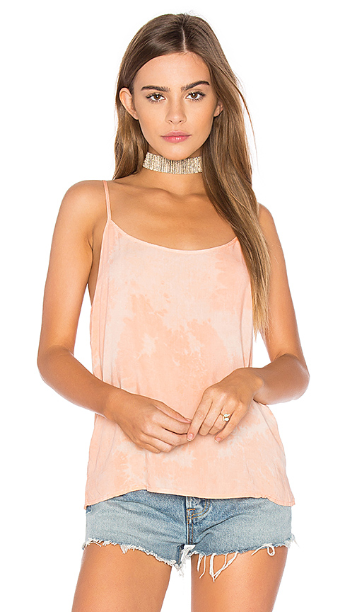 LACAUSA Easy Slip Tank in Pink