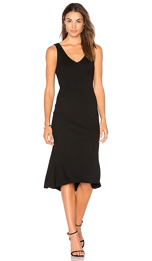 L'AGENCE Lucia Dress in Black