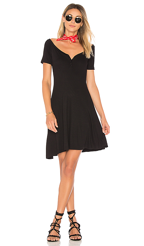 L'AGENCE Elia Dress in Black