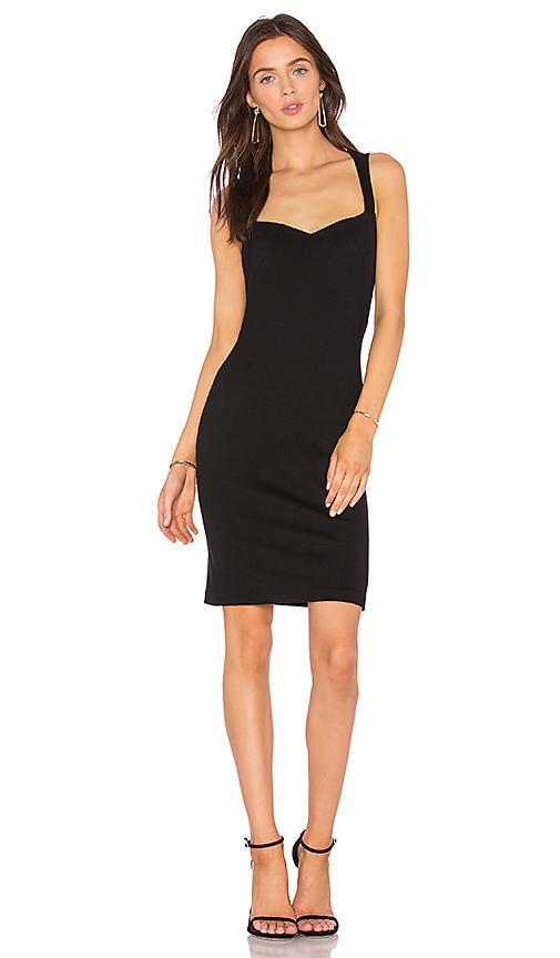 L'AGENCE Emma Dress in Black