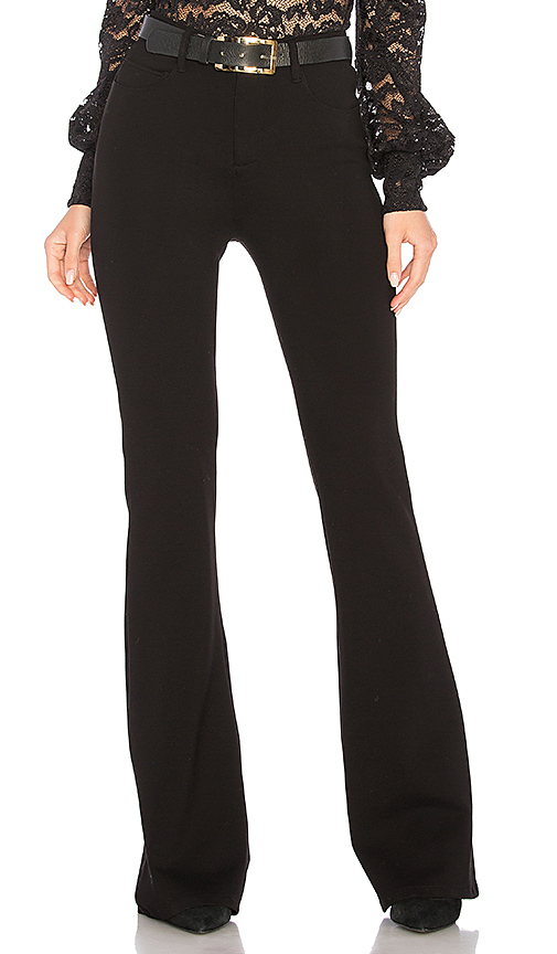 L'AGENCE Lola Flare Pant in Black. - size 23 (also in 24,25)
