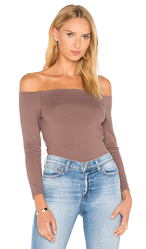 L'AGENCE Maria Top in Purple
