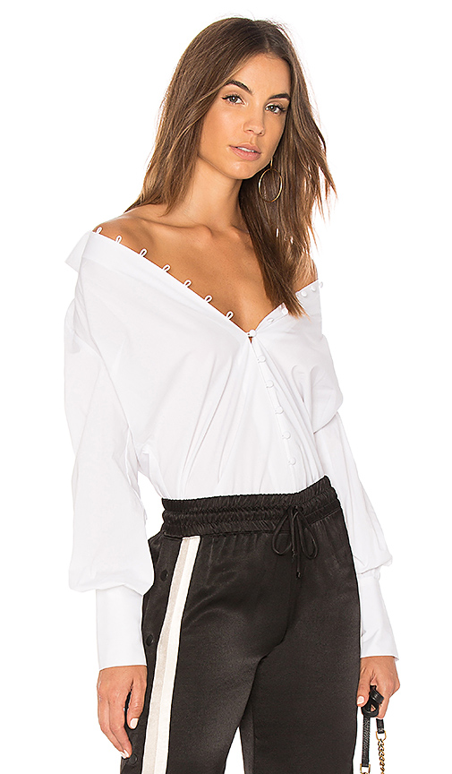 L'AGENCE Naomi Shirt in White. - size XS (also in M,S)