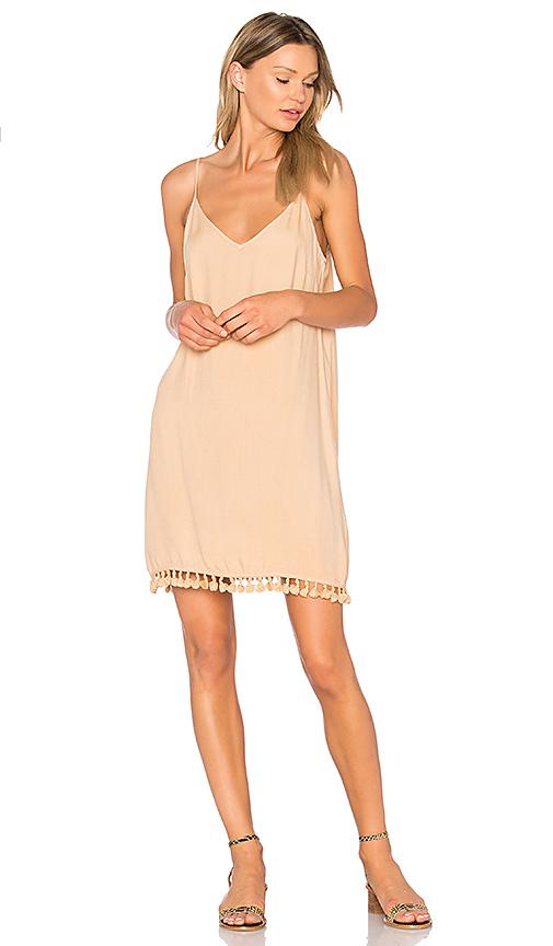 LA Made Dayton Dress in Beige