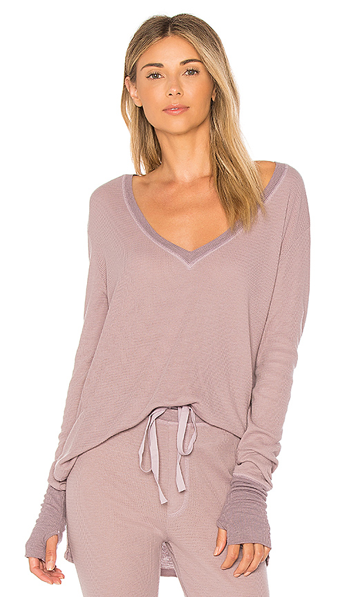 LA Made Ruby Top in Purple. - size L (also in M,S,XS)
