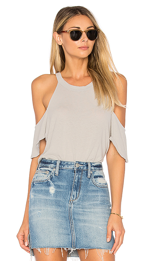 LA Made Ollie Top in Light Gray