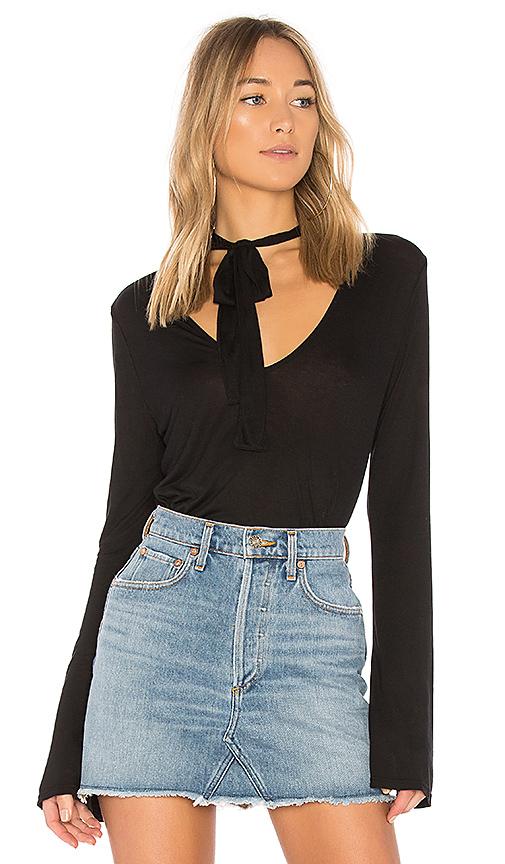 LA Made Erin Top in Black