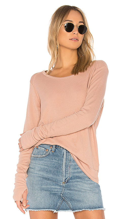LA Made Conway Thermal Top in Mauve