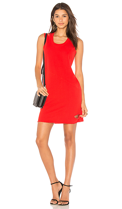 Lanston Cutout Mini Dress in Red