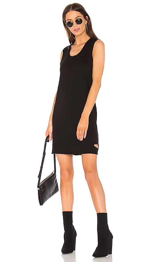 Lanston Cutout Mini Dress in Black