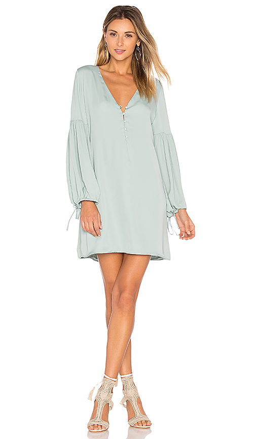 L'Academie The Airy Dress in Green