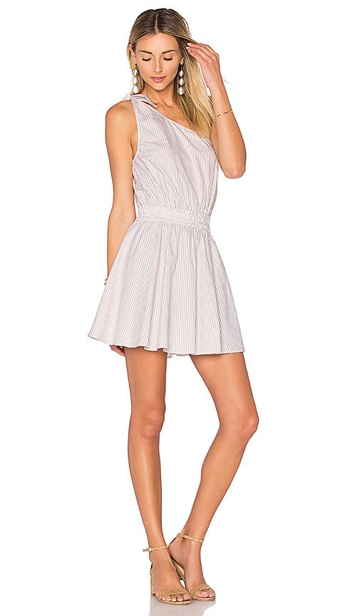 L'Academie x REVOLVE The Tie Shoulder Dress in White