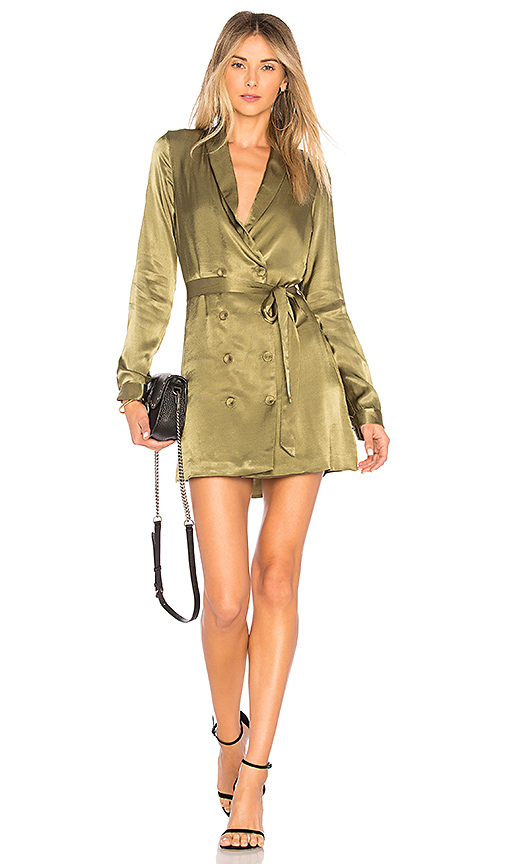 L'Academie The Sophie Dress in Green. - size L (also in M,S,XL, XS, XXS)