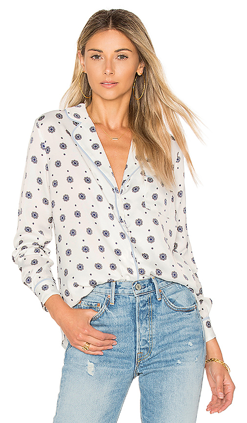 L'Academie x REVOLVE The Lounge Shirt in White