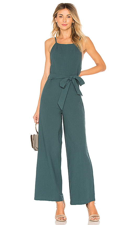 Line & Dot Randy Jumpsuit in Blue. - size M also in L,S,XS