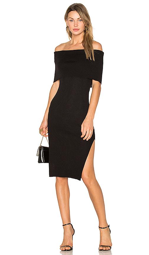 Line & Dot Perez Dress in Black. - size L also in S,XS,M